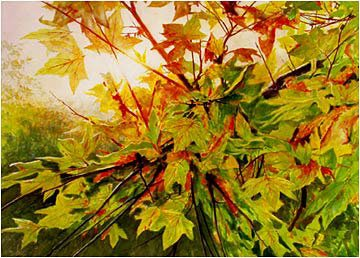 Autumn Leaves by Robert Reynolds
