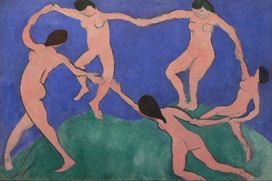 La Danse by Matisse, 1909.