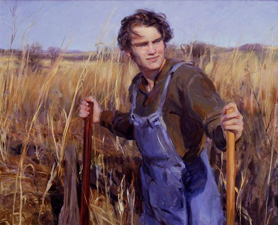 On Hamilton's Prairie by Rose Frantzen, 32 x 40, oil painting.