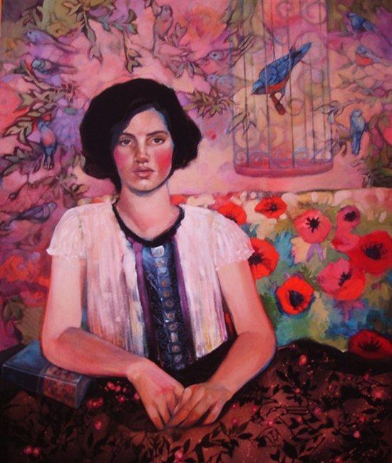 Blue Bird by Tonja Sell.