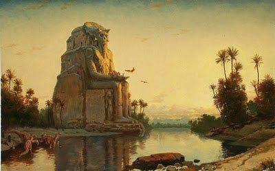 Ebulon by James Gurney, fantasy painting.