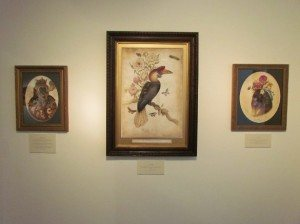 Lindsey Carr's work is hung in a traditional manner at Thinkspace Art Gallery in Culver City, CA.