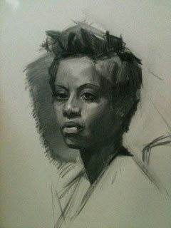 A sketch drawing by Monica Bean.