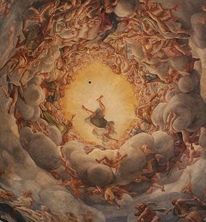 Correggio's frescoes in Parma, Italy, are some of my favorites. They are incredibly mind-boggling.