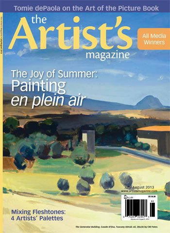 The Artist's Magazine, July/August 2013 issue.