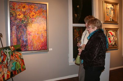 Many collectors are willing to buy direct from artists, especially if they are familiar with an artist's work, rather than in a traditional gallery setting such as this.