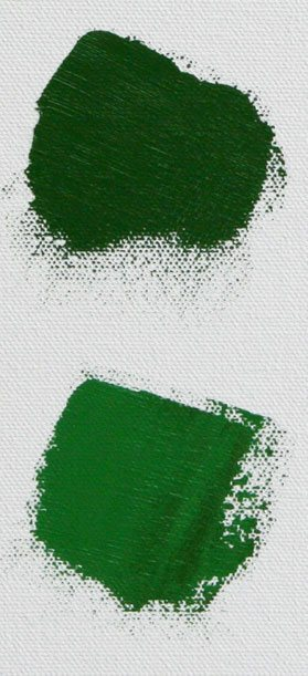 Adding Phthalo blue offers me a broader range of bright greens when I'm painting outside.