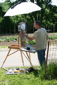 I met my friend Greg while plein air painting at a paint-out last summer.