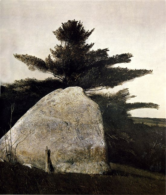 Far From Needham by Andrew Wyeth, oil on canvas, 1966.
