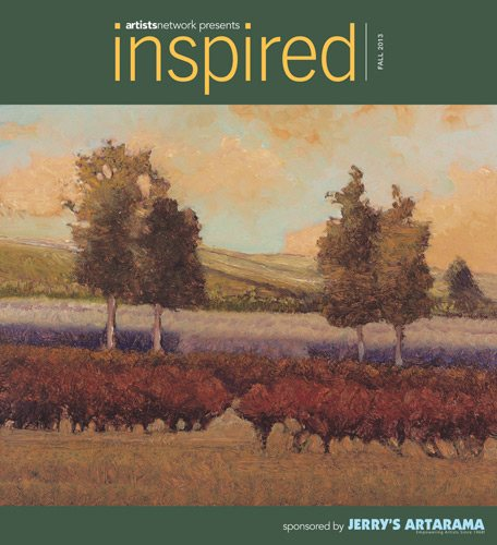 The cover of the Fall 2013 issue of Inspired