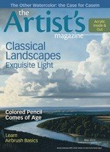 May 2013 issue of The Artist's Magazine.
