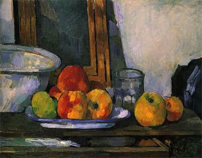 Still Life with Apples by Paul Cezanne, 1879.