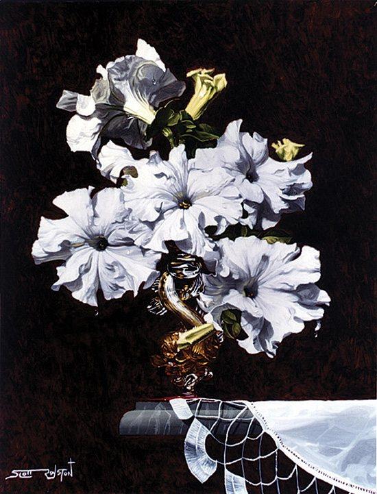 White Radiance by Scott Royston, 2007, oil on canvas