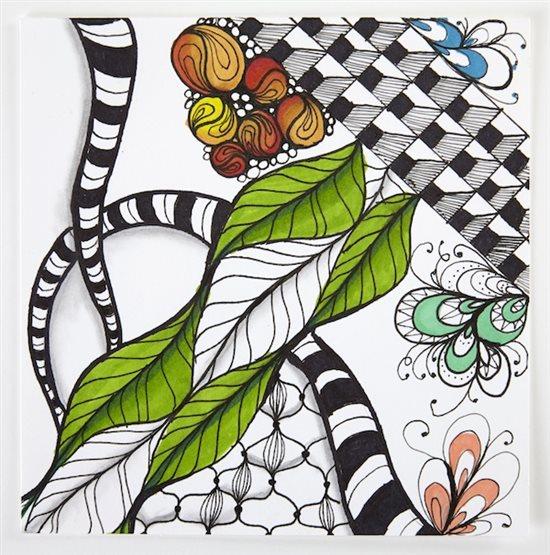 Tiffany Lovering's Tangle Love Workshop: Zen Doodle Basics