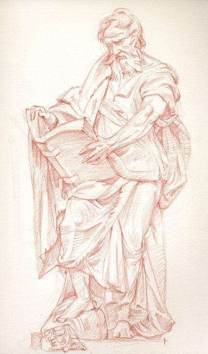 Camillo Rusconi's St. Matthew, St. John Lateran