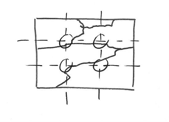 Plein air sketch B.