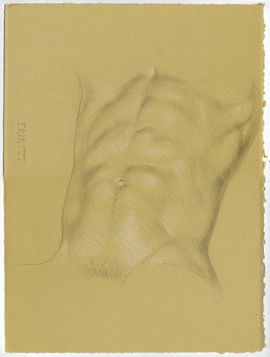 Erik by Daniel Maidman, drawing