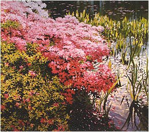Lakeside Azaleas by Robert Reynolds.