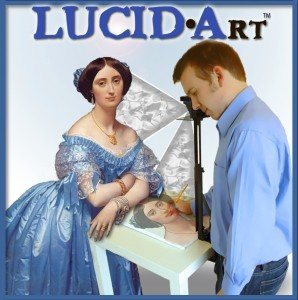 Today's giveaway is from Lucid-Art.