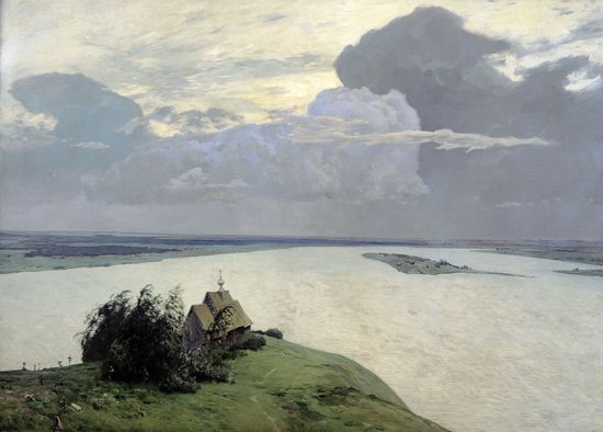 Above the Eternal Tranquility by Isaac Levitan, 1894.