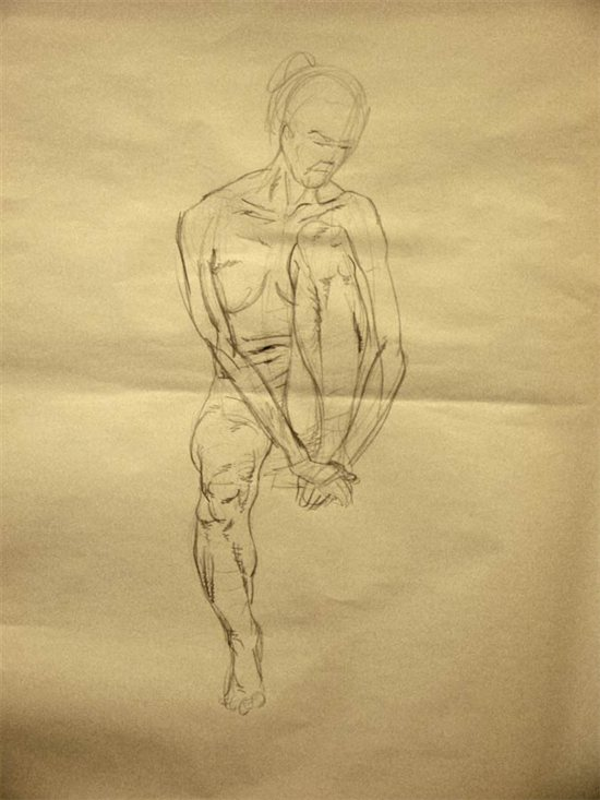Drawing 3: incorrect figure drawing of the arm