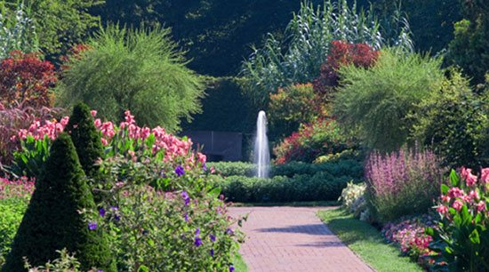 A view of Longwood Gardens. Photos courtesy of Longwood Gardens. Photo credit: L. Albee.