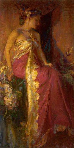 Nouveau by Daniel Gerhartz, oil painting.