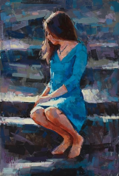 Figure painting by Alain Picard.