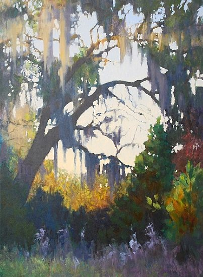 Mossy Glade by Keith McCulloch, 24 x 18, oil painting.