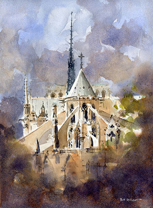 Watercolor painting (and tips) by Iain Stewart | ArtistsNetwork.com