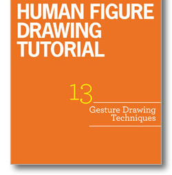 Learn 13 gesture drawing techniques and other human figure drawing tips in this free guide!