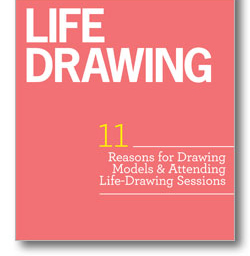 Claim Your Free eBook on life drawing tutorials and 11 reasons for drawing models.