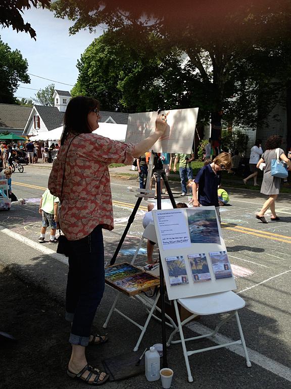 Haywood-Sullivan-Painting-Festival!