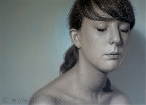Isabell by Simone Bingemer, of Cologne, Germany, winner of the 16th Annual Pastel 100 Pastel Journal Founder's Award