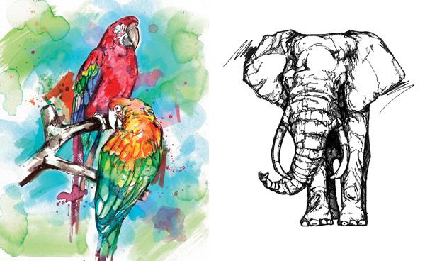Art by Jon Shaw, a featured STAEDTLER artist   ArtistsNetwork.com