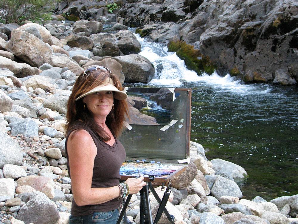 Lordier-pastel-American-River