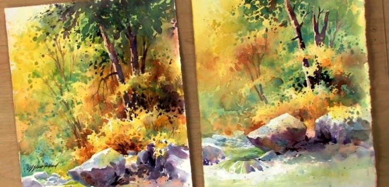 Landscape Painting: Watercolor