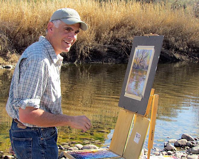 Richard-McKinley-pastel-pleinair-painting