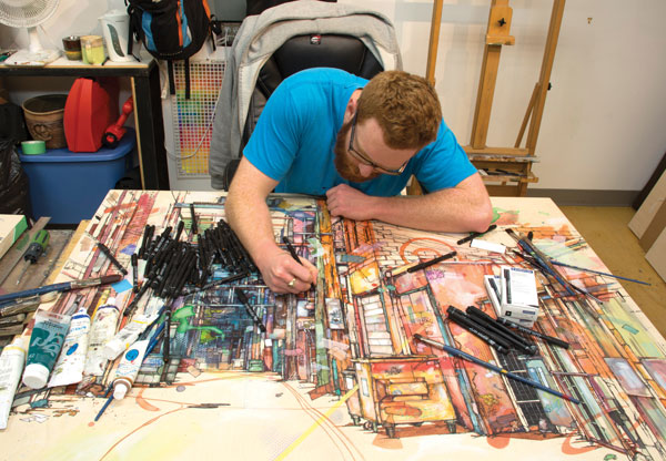 STAEDTLER Artist Jon Shaw   ArtistsNetwork.com