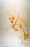 Demartin's twenty-minute gesture drawing.