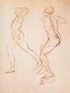 DeMartin's one-minute gesture drawing.