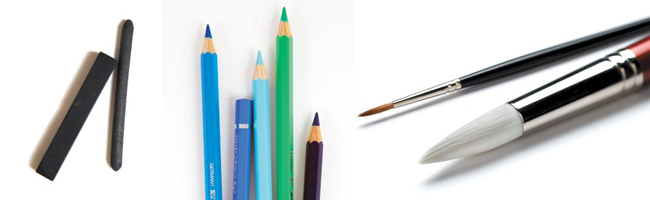 This tutorial goes through the essential art materials list.