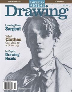 Drawing magazine cover