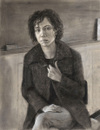 Portrait of K, 2006, charcoal drawing