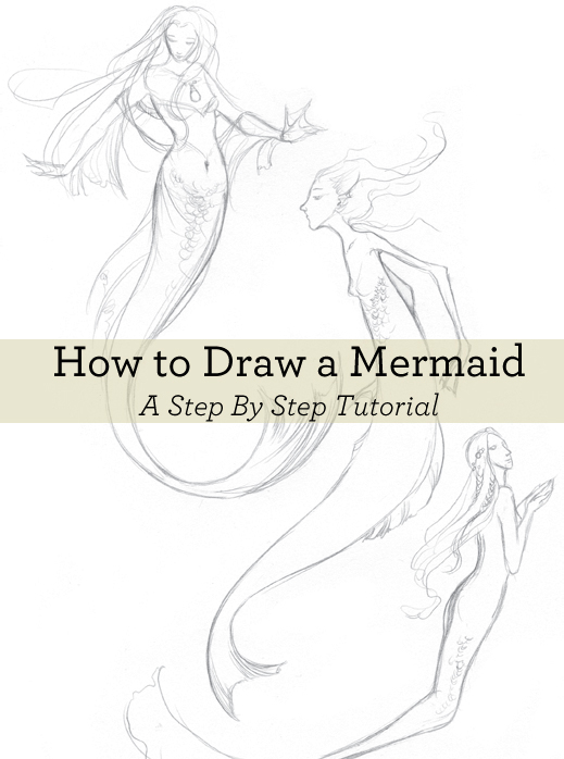 Learn how to draw a mermaid in this free guide.