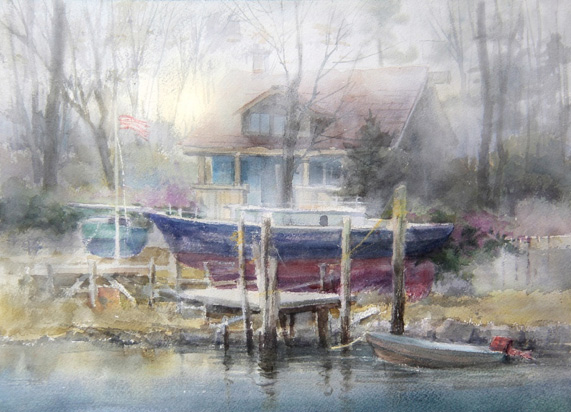 Mixed media landscape painting tips with Johannes Vloothuis | ArtistsNetwork.com