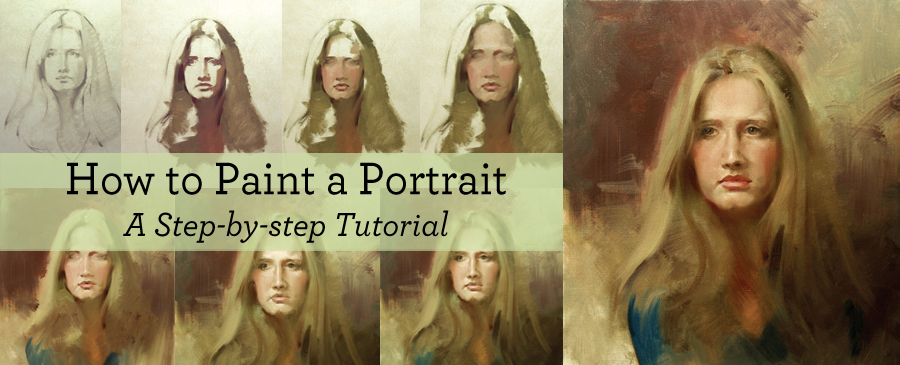 Download this free tutorial for portrait painting