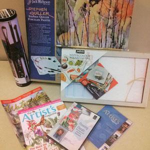 Win free art supplies at ArtistsNetwork.com