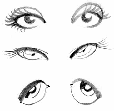 How to draw cartoon eyes free guide.