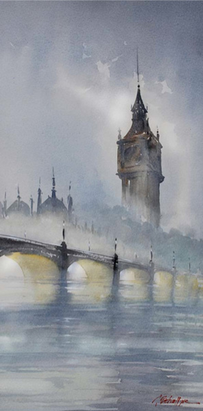 Watercolor painting inspiration by Thomas Schaller | ArtistsNetwork.com